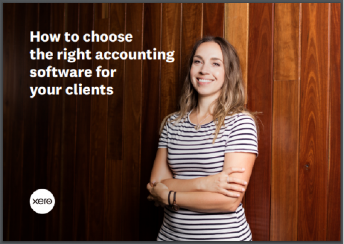 How to choose the right accounting software for your clients
