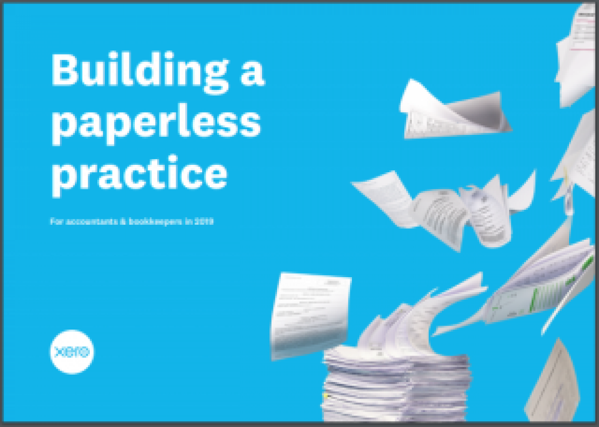 Building a paperless practice