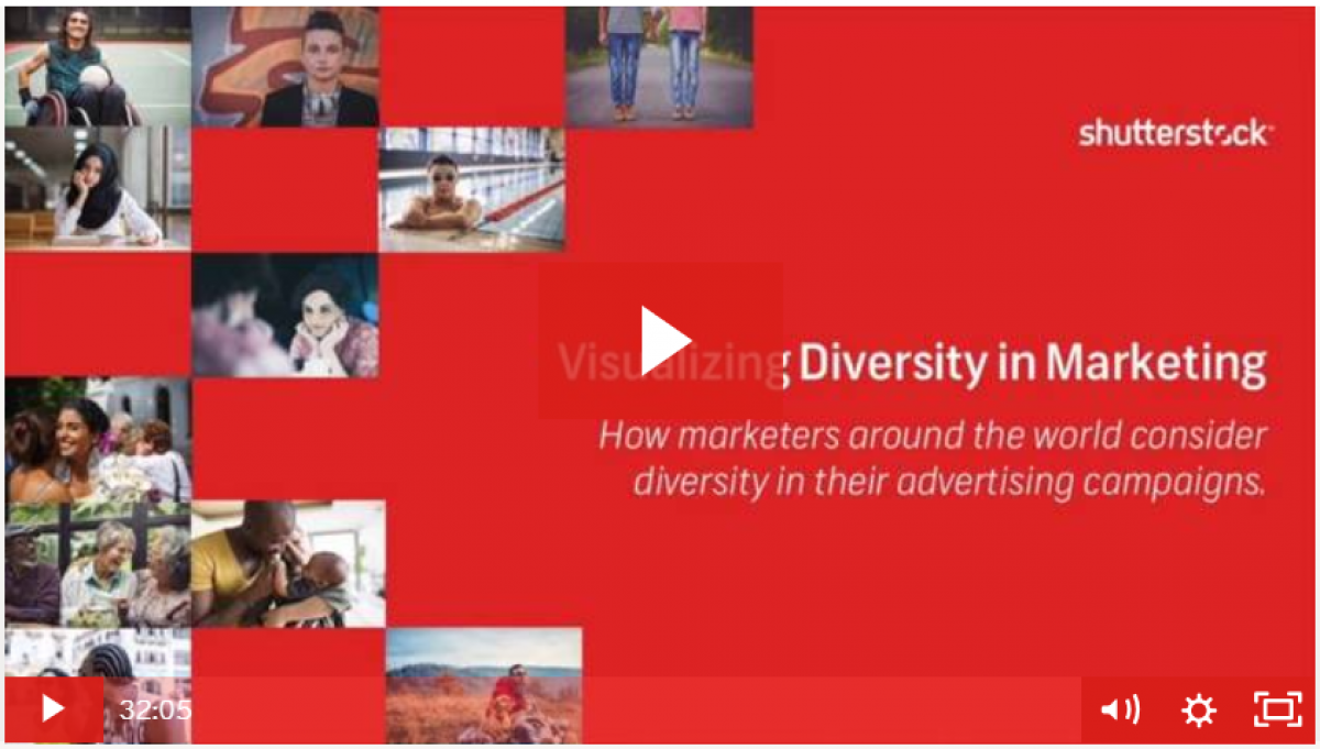 Visualizing Diversity in Marketing and Advertising