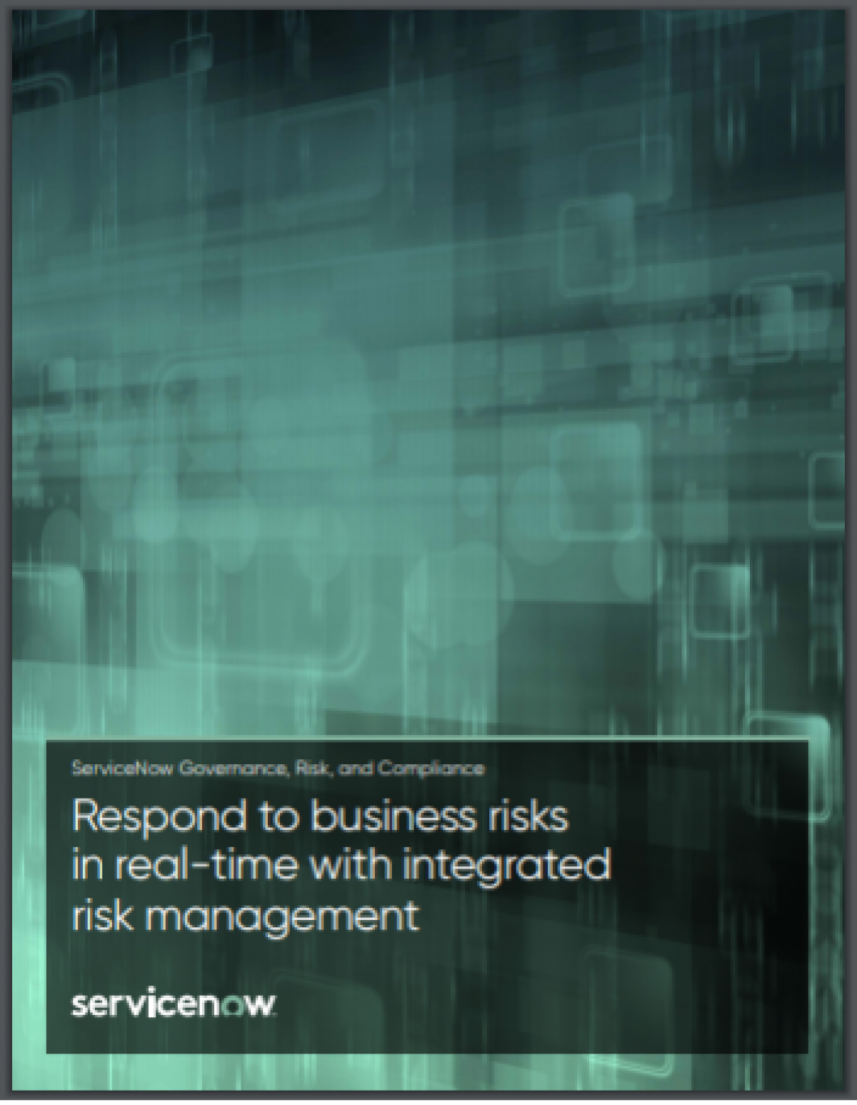 Transforming GRC into an automated and integrated risk program