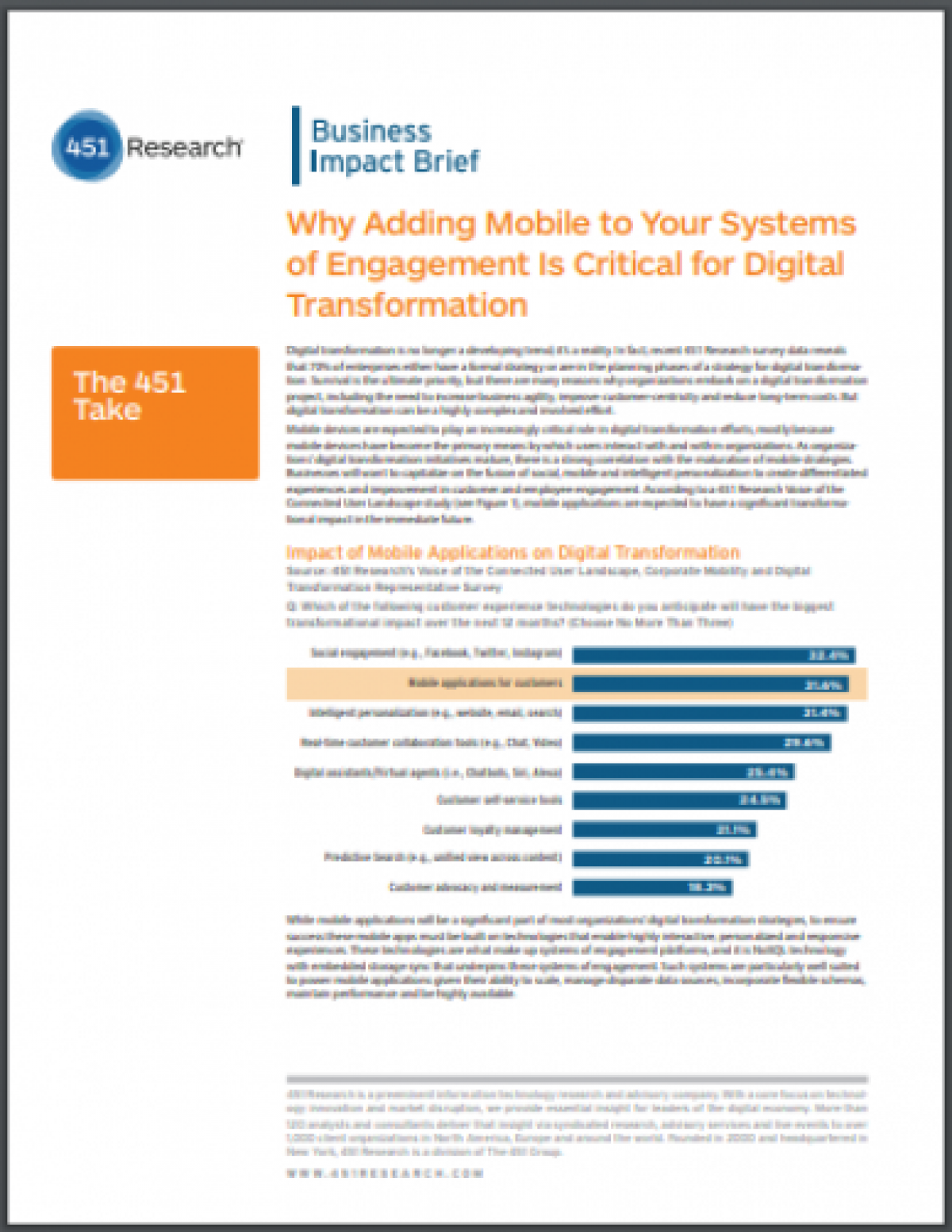 Why Adding Mobile to Your Systems of Engagement Is Critical for Digital Transformation